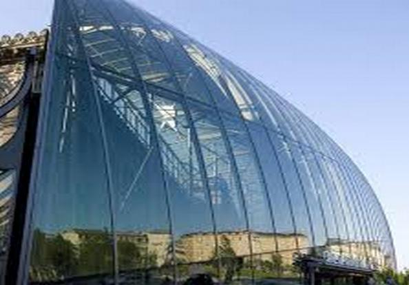Reliable suppliers and exporters of curved glass facade panels