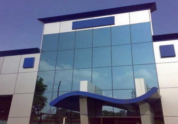 Glass Facade in modern architectural style