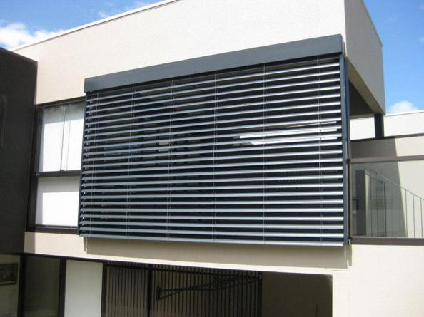 Buy external fixed aluminium louvres at best price